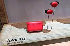 Sony показала цветастые беспроводные наушники Hear.In 3