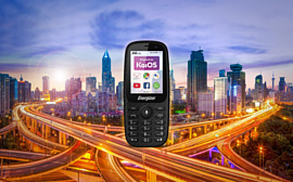 Energizer E241 и E241S — новые дешевые фичерфоны с KaiOS