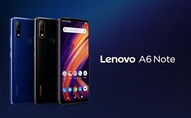 K10 Note и A6 Note — два новых недорогих смартфона Lenovo