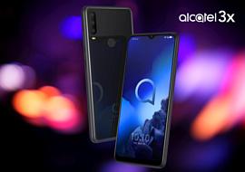 Alcatel показала смартфоны 1V и 3X, а также планшет Smart Tab 7