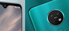 Nokia 7.2 и 6.2 — новые мобильники HMD Global с тройными камерами и HDR-экранами