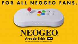 SNK выпустит ретро-консоль в виде файтстика с 20 играми
