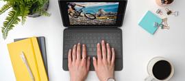 Logitech выпустила чехлы-клавиатуры для нового 10.2-дюймового iPad