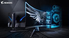 Aorus CV27Q — новый геймерский монитор Gigabyte