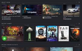 Valve запустила бета-тестирование нового дизайна Steam