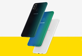 Samsung представила бюджетные смартфоны Galaxy M10s и M30s