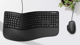 Microsoft выпустила Ergonomic Keyboard с клавишей эмодзи