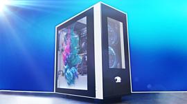 iBuyPower начала продажи корпусов Snowblind с LCD-панелями