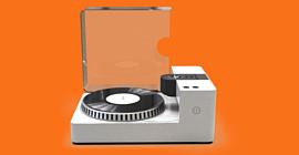Phonocut Home Vinyl Recorder — проигрыватель пластинок, который также может их записывать