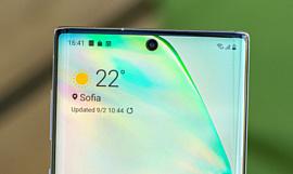 Первый смартфон Samsung с камерой под экраном выпустят в 2020