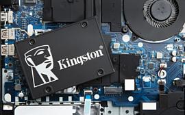 Kingston выпустила 2.5-дюймовые SATA SSD-накопители KC600