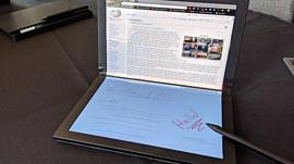 Первые гибкие Lenovo ThinkPad X1 появятся в продаже в 2020