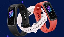 Huawei анонсировала дешевый умный браслет Band 4