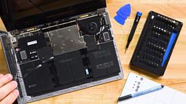Специалисты iFixit разобрали Microsoft Surface Laptop 3