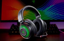 Razer показала новую геймерскую гарнитуру Kraken Ultimate за $129