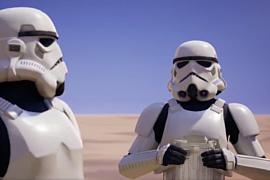 В Fortnite добавили облик штурмовика Империи из «Звездных войн»