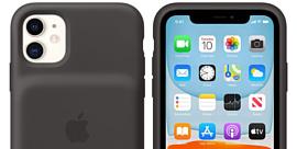 Apple выпустила фирменные чехлы с батареями для iPhone 11