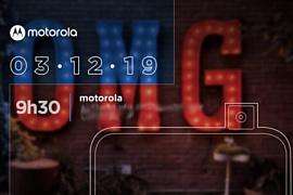 Смартфон Motorola One Hyper с выдвижной камерой представят 3 декабря