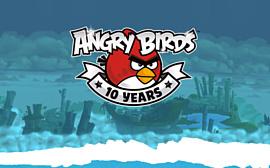 Angry Birds исполнилось 10 лет