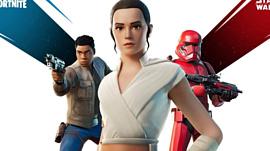 В Fortnite добавили Рей, Финна и штурмовика ситхов из «Звездных войн»