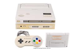 Невыпущенную консоль Nintendo Play Station выставят на аукцион