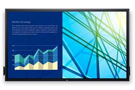 Dell выпустила 86-дюймовый сенсорный монитор для офисов