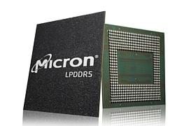 Micron объявила о начале поставок памяти LPDDR5 RAM