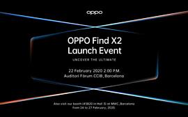Oppo Find X2 выпустят 22 февраля