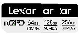 Lexar выпустила новые карты памяти NM Card для устройств Huawei
