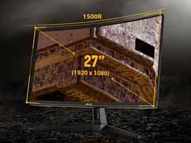 Asus анонсировала новый геймерский монитор TUF Gaming VG27VH1B