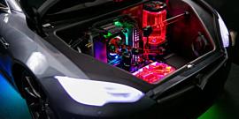 Внутри игрушечной Tesla разместили мощный игровой компьютер