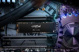 Crucial анонсировала новые NVMe SSD P5 и P2
