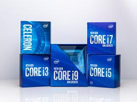 Intel представила новые процессоры Comet Lake 10 поколения