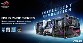 Asus выпустила несколько материнских плат на чипе Intel Z490