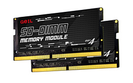 GeiL анонсировала 64-гигабайтный набор памяти DDR4-3200 SO-DIMM