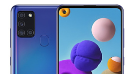 В сеть попали рендеры и характеристики Samsung Galaxy A21s