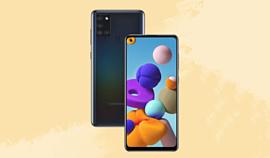 Samsung представила недорогой смартфон Galaxy A21s