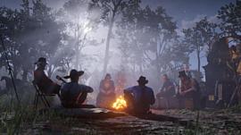 Конференции в Zoom заменили посиделками у костра в Red Dead Redemption 2