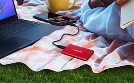 Samsung начала продажи скоростных внешних SSD T7