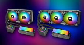 Thermaltake выпустила AiO-кулеры, которые одновременно охлаждают CPU и RAM