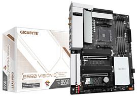 Gigabyte представила материнскую плату B550 Vision D