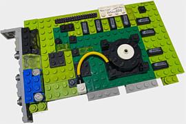 Из конструктора LEGO собрали копию «первого GPU» — GeForce 256