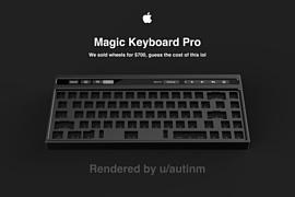Дизайнер создал концепт механической клавиатуры Apple Magic Keyboard Pro