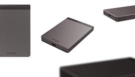 Lexar показала портативный 1-терабайтный SSD SL200 с USB-C