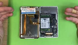 Энтузиаст установил в Apple iPod Classic современный SSD-накопитель