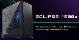 Phanteks представила новый премиум-корпус Eclipse P500A