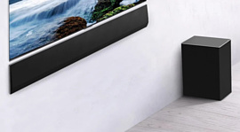LG представила саундбар GX с беспроводным сабвуфером