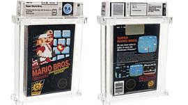 Запечатанный картридж Super Mario Bros. продали за $114 тысяч