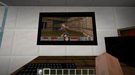 Внутри Minecraft теперь можно запустить Windows 95 с DOOM