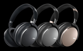 Samsung анонсировала новые беспроводные гарнитуры AKG Y600 NC и AKG Y400